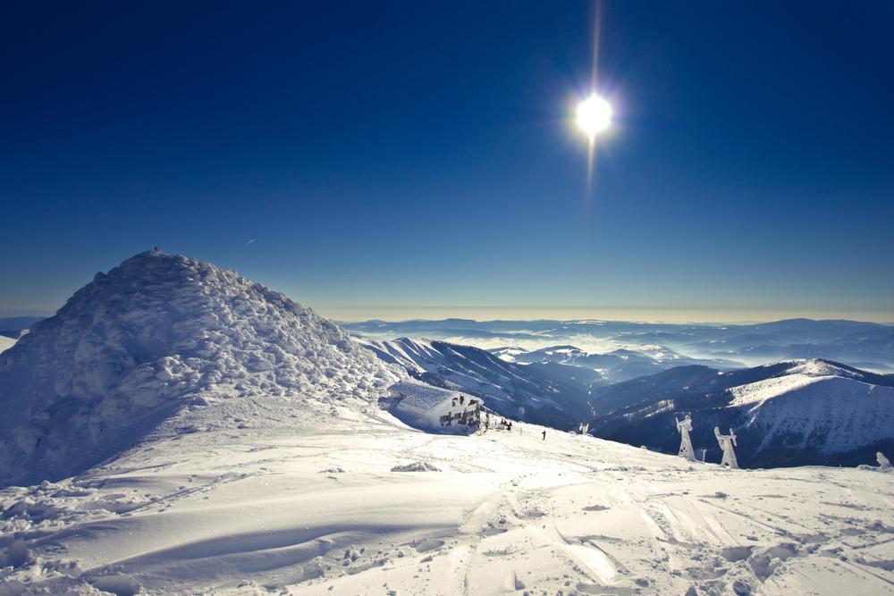 22 января 2018 — классная погода в Словакии курорт Jasna